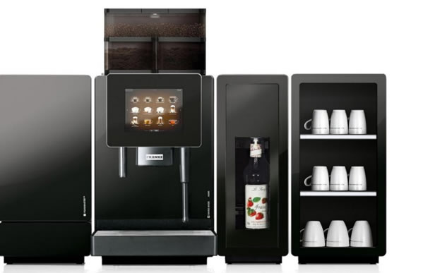 Bean to cup coffee machine rental Manchester